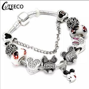 Jewelry - Brand New 21cm Mickey Mouse Charm Bracelet